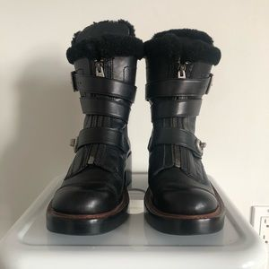 Coach Zip Moro Black Boots